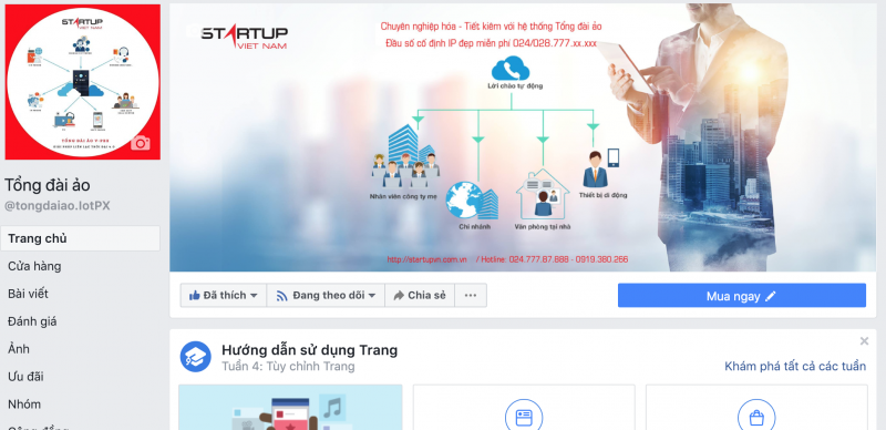 facebook tổng đài ảo